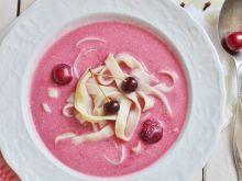 Zupa - chłodnik z wiśni