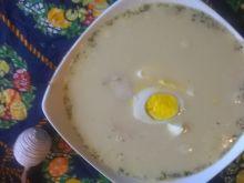 Zupa chrzanowa na żeberkach