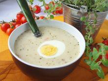 Zupa chrzanowa z jajkiem