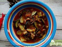 Zupa cukiniowo pieczarkowa