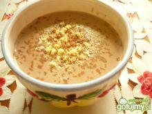 Zupa czekoladowa z biszkoptami