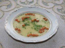 Zupa czosnkowo-serowa