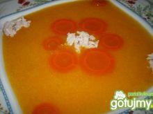Zupa dyniowa z kaszą manną