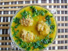 Zupa dyniowa z klopsikami