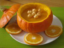 Zupa dyniowa z pomarańczą