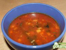 Zupa dyniowa z ziemniakami