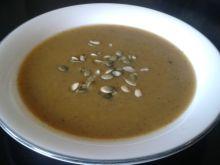 Zupa dyniowo - cukiniowa