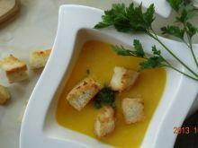 Zupa dyniowo  - czosnkowa