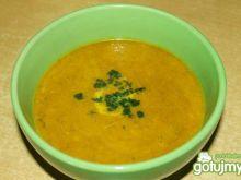 Zupa dyniowo - pomidorowa wg kropellka