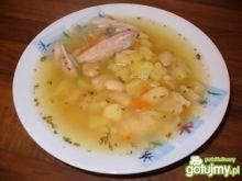zupa fasolowa długo gotowana