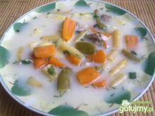 Zupa fasolowa -słoikowa