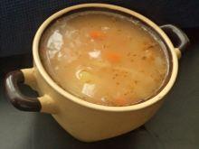 Zupa fasolowa z białej fasoli