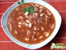 Zupa fasolowa z kiełbasą 3