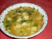 Zupa fasolowa z porem
