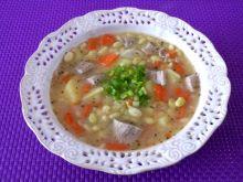 Zupa fasolowa z warzywami