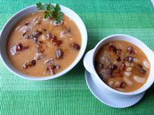 Zupa fasolowa zasmażana