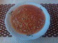 Domowa zupa gołąbkowa