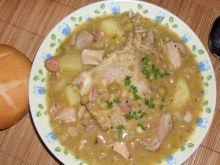 Zupa grochowa.
