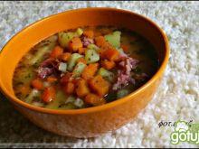 Zupa grochowa z nutką fasoli