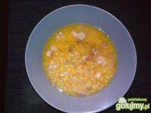 Zupa grochowo - warzywna