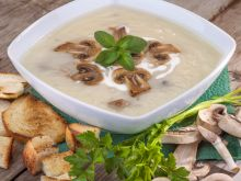 Zupa grzybowa na Wigilię