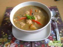 Zupa grzybowa z klopsikami