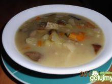 Zupa grzybowa z maślaków