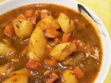 Zupa -gulasz ziemniaczany