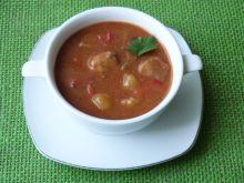 Zupa gulaszowa z papryką i ziemniakami