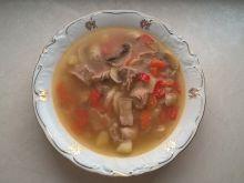 Zupa gulaszowa z pieczarkami i warzywami