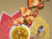 Zupa imbirowo-marchewkowa z grzankami