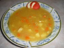 Zupa jabłkowa  z curry