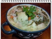 Zupa jarzynowa Eli z kalafiorem i ryżem