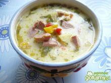 Zupa jarzynowa na kiełbasie