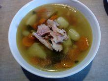 Zupa jarzynowa na kości