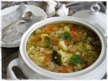 Zupa jarzynowa na króliku