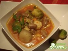 Zupa jarzynowa na serduszkach