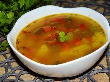 Zupa jarzynowa (papryka, szparagi, cukinia)