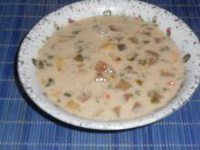 Zupa jarzynowa z buraczkami