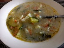 Zupa jarzynowa z cukinią