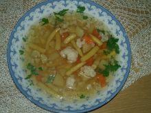 Zupa jarzynowa z japońskim akcentem