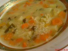 Zupa jarzynowa z kuskusem