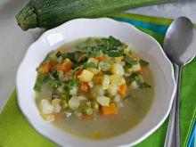 Zupa jarzynowa z mleczkiem kokosowym