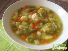 Zupa jarzynowa z mrożonych warzyw