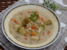 Zupa jarzynowa z pęczakiem