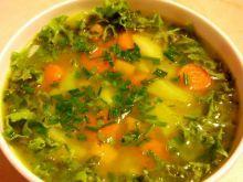 Zupa jarzynowa z sałatą