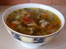zupa jarzynowa z wkładką mięsa