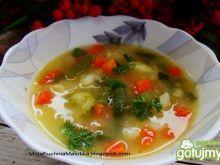 Zupa jesienna na zasmażce