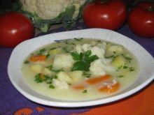 Zupa kalafiorowa na kurczaku