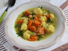 Zupa kalafiorowa na rosole